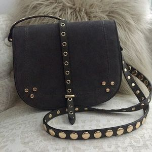Handbags - Crossbody Bag with Studs